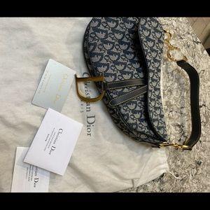 Christian Dior Saddle bag, vintage